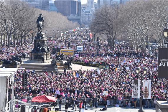 Philly Womens March 2018