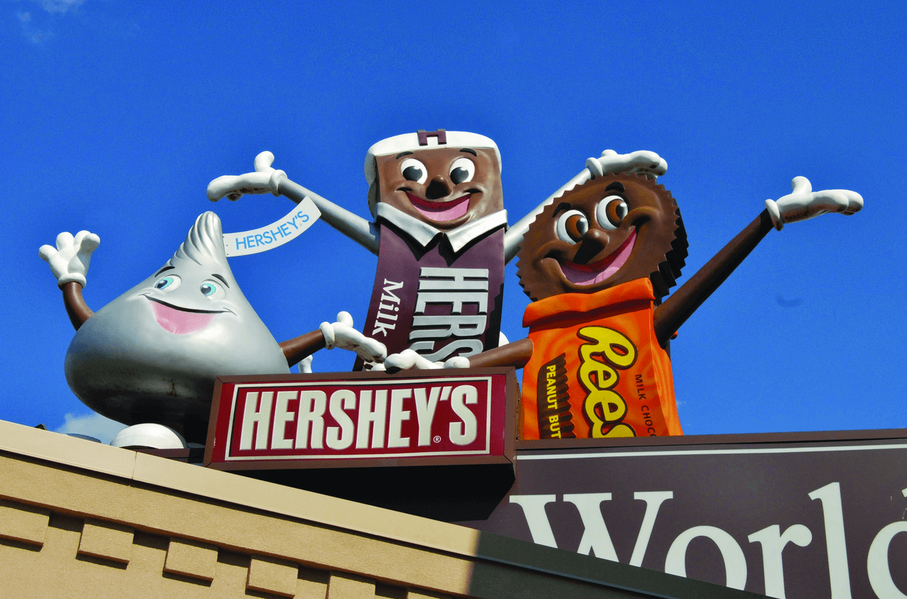 Hersheypark, home of Hershey Chocolates, is closed due to flooding.