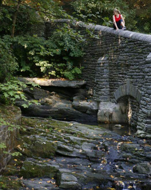 Devil's Pool is one of many attractions in the serene Wissahickon. (Credit: Visit Philly)