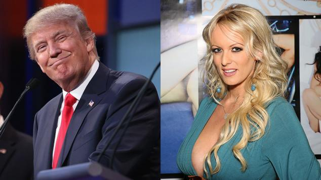 Stormy and Donald. Credit: Getty Images