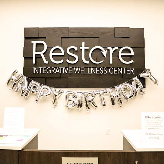 Stop by and say high at Restore Integrative Wellness Center