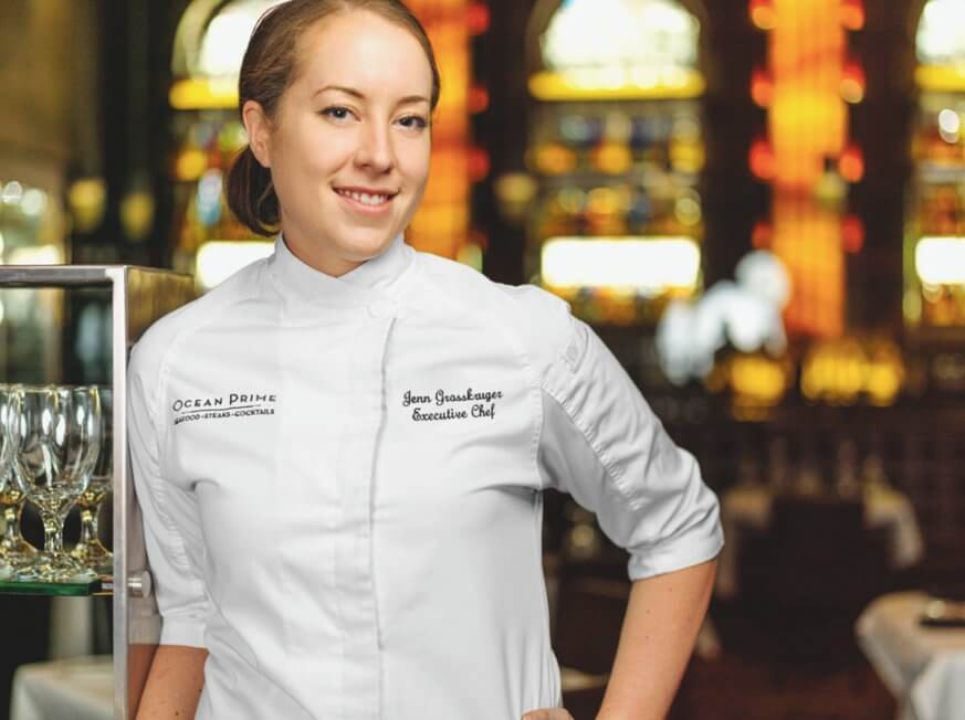 Chef Jennifer Grosskuger is the new executive chef at Ocean Prime. | Provided