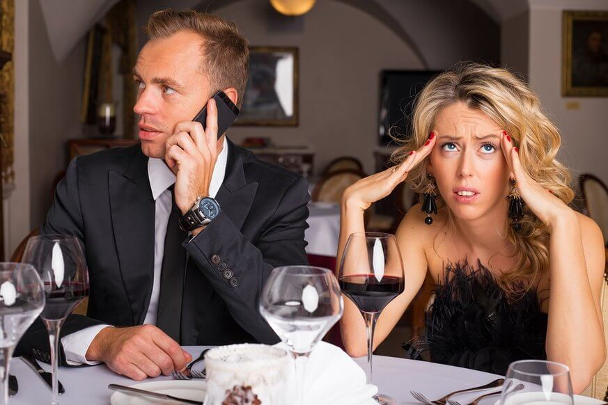 Imagine a Valentine's Day dinner without your boo distracted by their phone. | Provided