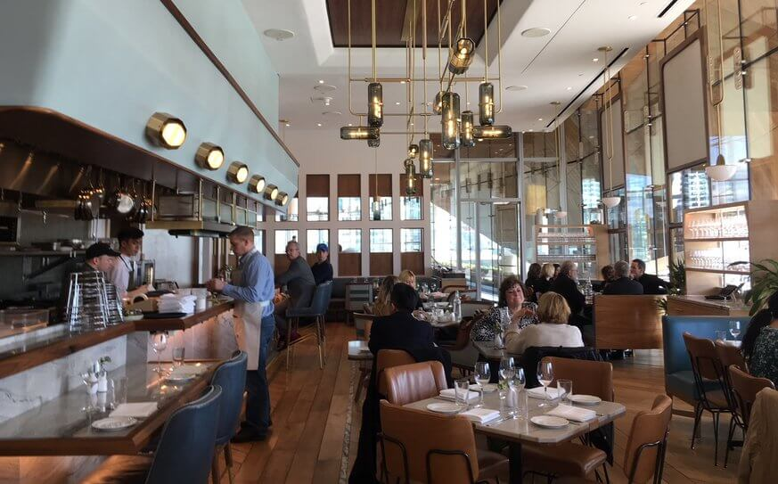 The Walnut Street Cafe has an extensive lunch menu with a view of the Schuylkill River. | Jennifer Logue