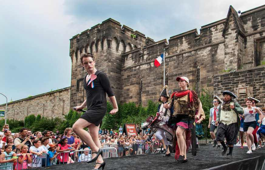 Bastille Day at Eastern State Penitentiary says goodbye in 2018.   R. Kennedy for GPTMC