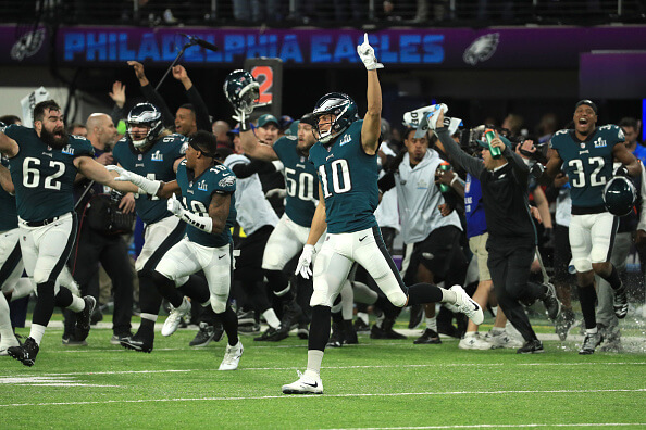 Philly reacts to the Eagles being uninvited to the White House. | Getty Images